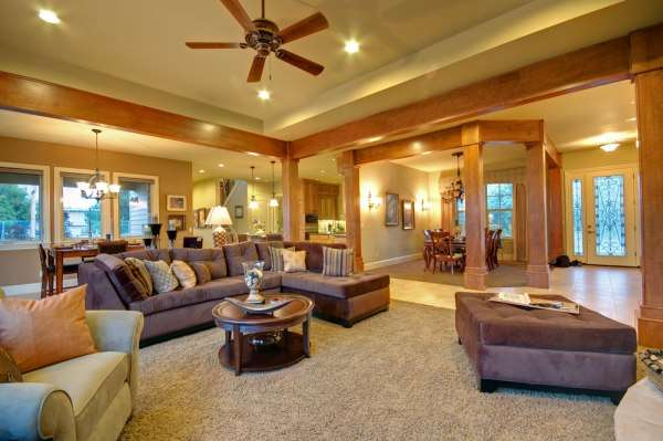 Impressive Ceiling Fan with Recessed Lighting in Living Room 600 x 399 · 32 kB · jpeg
